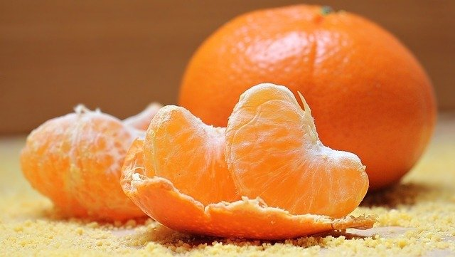 Tangerines - Superfoods For Hair Growth