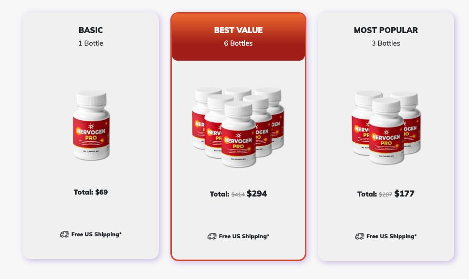 nervogen pro pricing