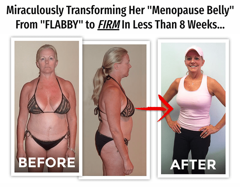transformation for getting lean belly