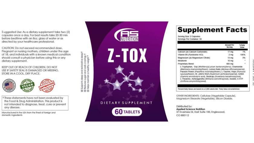 Z-Tox-Dosage